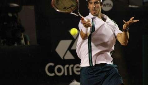 Campeão Pablo Cuevas e brasileiro Rogério Dutra Silva abrem a disputa do Rio Open nesta segunda