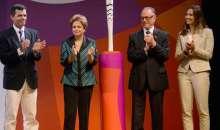 Tocha Olímpica Rio 2016 é apresentada