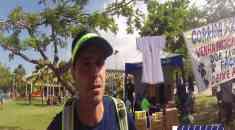 Marcio Villar realizou mais uma corrida solidária no RJ e se prepara para novo recorde mundial