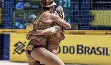 Álvaro/Saymon e Larissa/Talita são campeões em Maceió