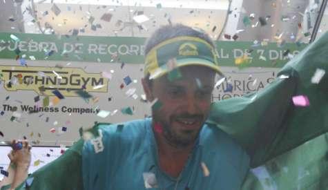 Brasileiro Marcio Villar faz 827 km e entra para o livro dos recordes