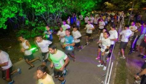 Treinão noturno para a Maratona do Rio