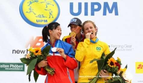 Yane Marques é bronze no Mundial de Pentatlo Moderno e garante vaga para Rio 2016