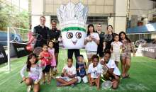 Mascote do badminton é lançada no Rio de Janeiro e ganha nome