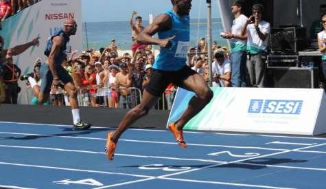 Anunciados adversários de Usain Bolt no Mano a Mano 2015